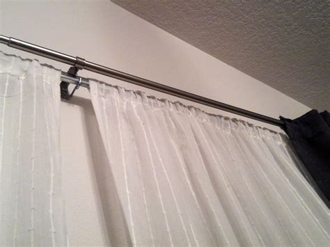 how to make homemade curtain rods two pairs of diy curtains for my dining room plus a diy