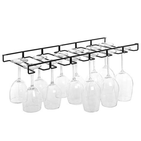 The Counter Wine Glass Rack by Stemware Wine Glasses Hanger Organizer Holder Rack Wire