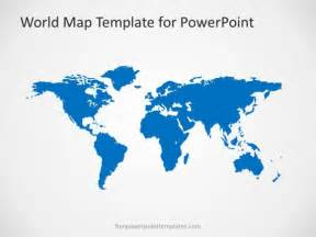 world map powerpoint template 00004 01 world map 2 free powerpoint templates