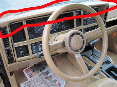 jeep cherokee xj dashboard dash removal need help jeep cherokee forum