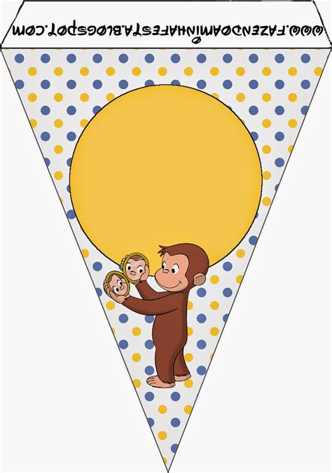 curious george printable birthday banner curious george free party printables oh my fiesta in