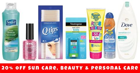 Big Savings At Beautycom Today Only by Target 20 Sun Care And Personal Care Items