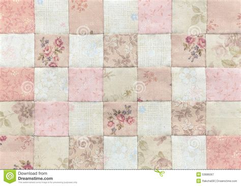 Basic Patchwork Quilt Pattern - patchwork quilt basic pattern square stock photo image