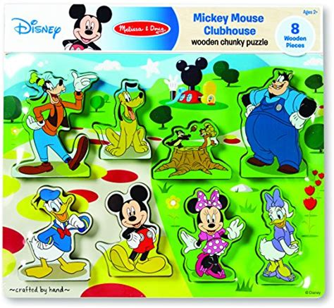 Puzzle Mickey Mouse mickey mouse clubhouse wooden chunky puzzle