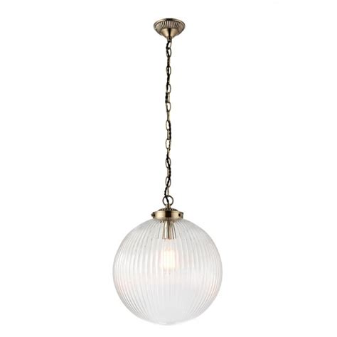 large glass pendant light endon lighting brydon single light large ceiling pendant