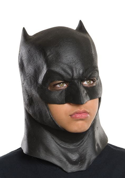 child dc of justice batman mask