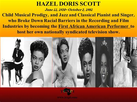 She Appeared In Several Among Them The H by Hazel Doris Born In Port Of Spain She