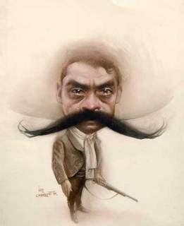 imagenes de emiliano zapata a lapiz m a gran caricaturista mexicano 161 luis carre 209 o