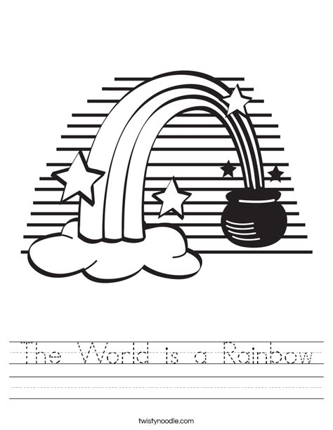 r is for rainbow worksheet twisty noodle the world is a rainbow worksheet twisty noodle
