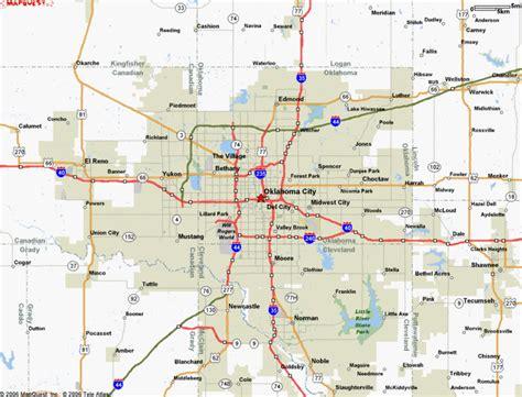 oklahoma city us map oklahoma city real estate market and trends