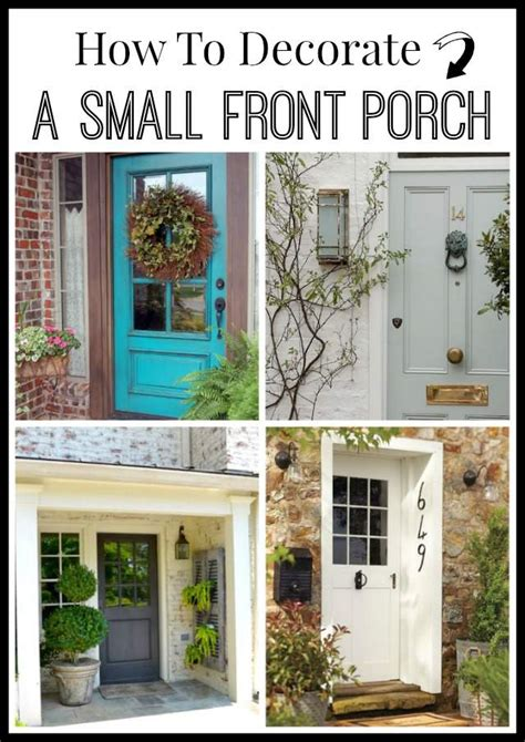 how to decorate a small house with no money how to decorate a small front porch worthing court