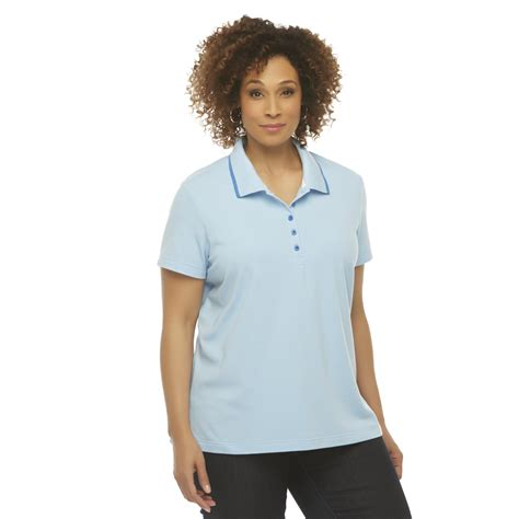 basic editions s plus pique polo shirt clothing