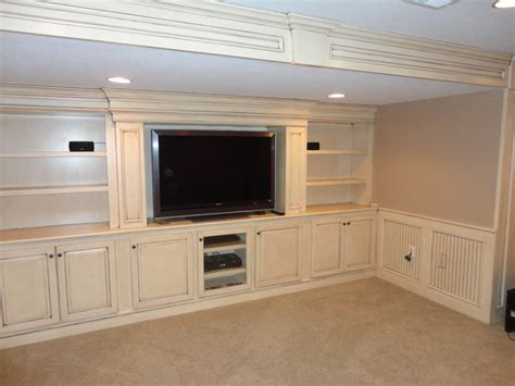 Built in Entertainment Center   Traditional   Home Theater   Kansas City   by KC Basement Finishing