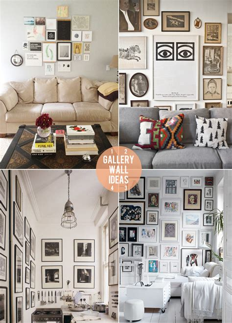 wall gallery ideas happy interior blog july 2012