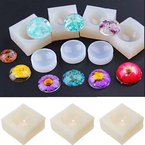 how to make resin at home silicone mold kit jewelry 3d gem pendant