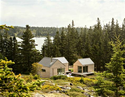 Landscape Timbers Maine Three In One Maine Cabins Take Separate Bedrooms To A