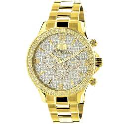 luxurman liberty mens for sale 0 2ct yellow