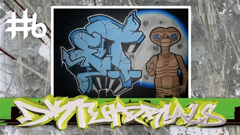 wildstyle graffiti tutorial   alien