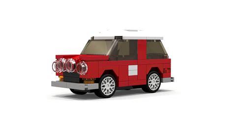custom lego mini cooper lego mini cooper style car mini moc