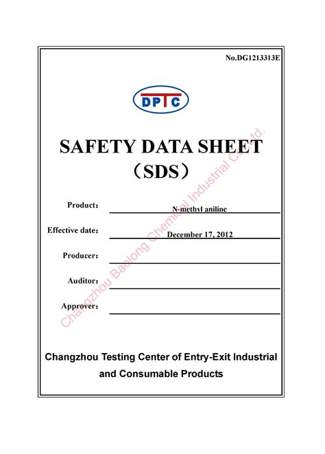 Ghs Safety Data Sheet Template by Ghs Safety Data Sheet Template Pictures To Pin On
