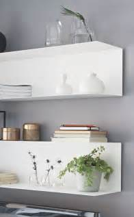 Floating Bookshelves Ikea Ikea Floating Shelves Styling Home Decorating Inspiration