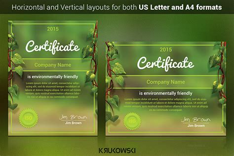 38  PSD Certificate Templates ? Free PSD Format Download