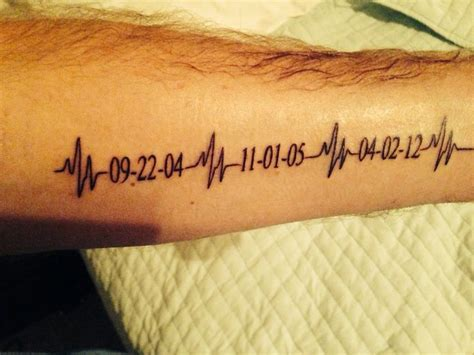 kids ekgs tattoo wrist google search a bit of this a