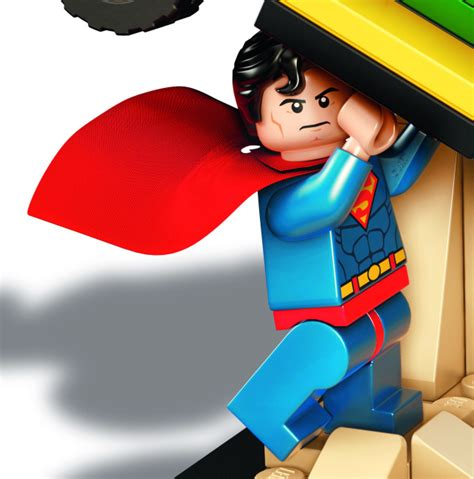 Kaos Lego Graphic 06 Superman exclusive sdcc 2015 lego dc comics 1 set bricks and bloks