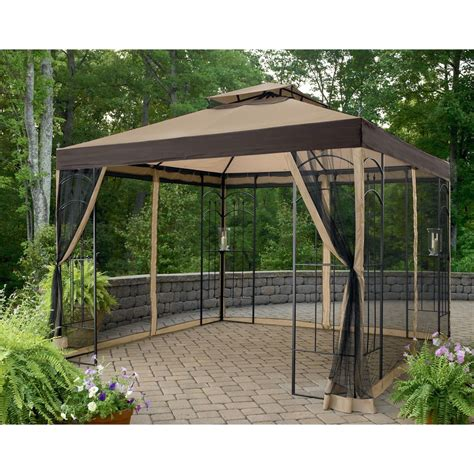 screen gazebo superb screened gazebo 3 kmart gazebo replacement canopy
