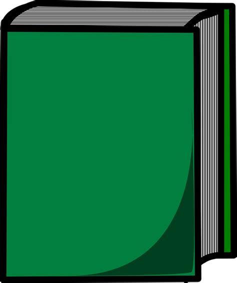 libro clipart vector gratis libro tapa dura cerrado verde imagen
