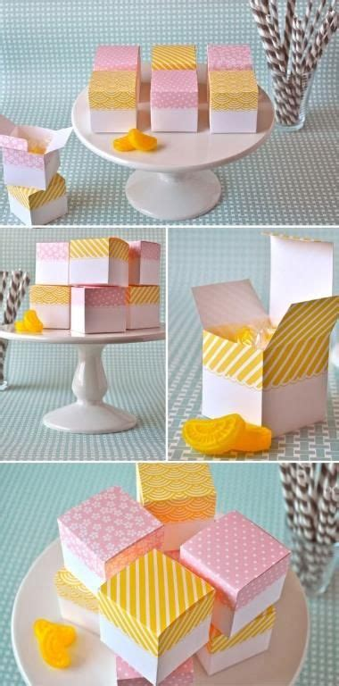 pretty homemade gift boxes templates tutorials