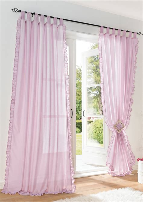 Myrten 01 Net Curtains 1 Pair White 1pair of sheer curtain 2pcs beautiful ruffles white pink yellow colors window curtains table top