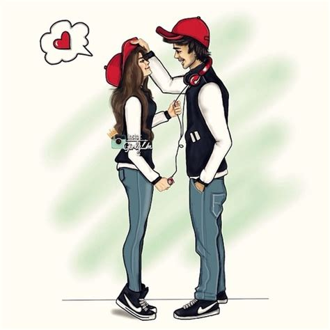 photos cute attitude images drawing art gallery cute couple drawing discovered by stella on we heart it