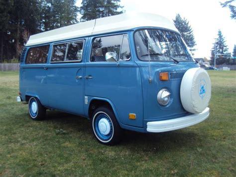 volkswagen vanagon blue seller of cars 1973 volkswagen vanagon blue
