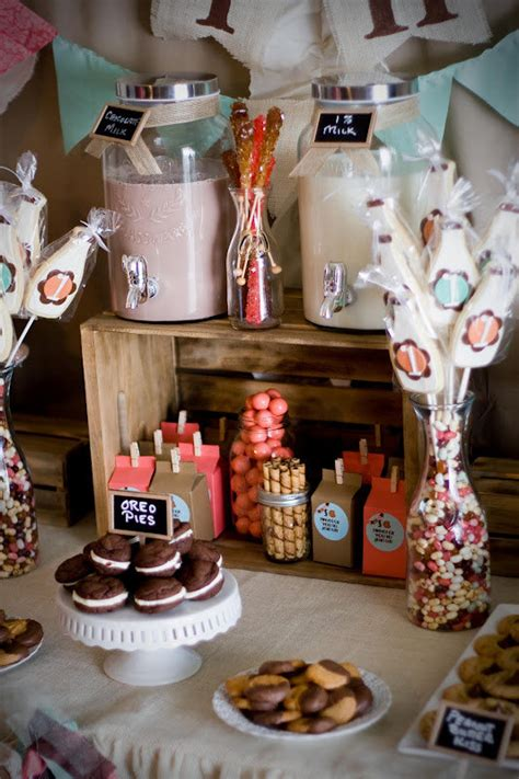 Girl Milk Themes | cookies and milk party for boy girl twins popsugar moms