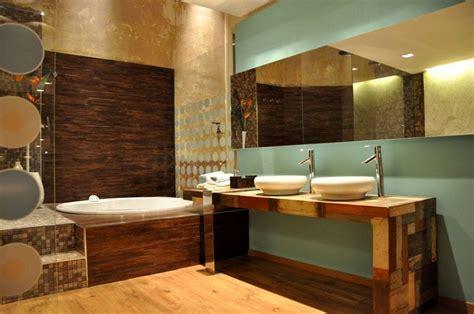 como decorar baños lujosos piso piedra de ideas