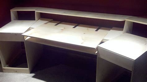 Build Your Own Studio Desk by Pdf Plans Home Studio Desk Plans Diy How To Build