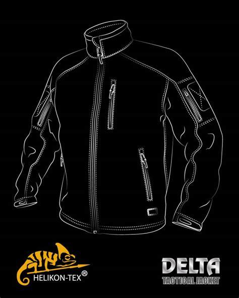 New Tactical Delta Black helikon delta tactical jacket black airsoftshop