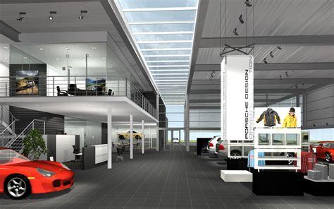 Porsche Autohaus by Projekte Innenarchitektur Porsche Ci Autohaus Archlab