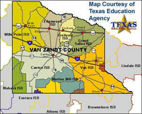 zandt county texas map zandt couty texas school districts