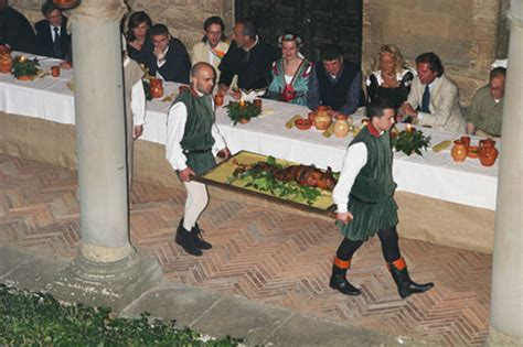 banchetto medievale banchetto medievale castiglion fiorentino