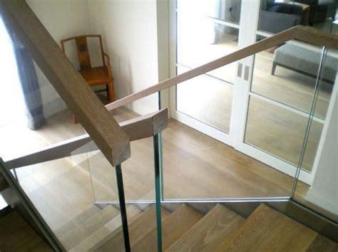 barandilla transparente barandilla de cristal en la escalera decorating with