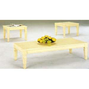 ivory coffee table set coffee table ivory coffe table set 45007 iem