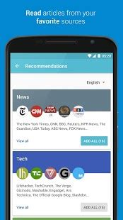 palabre feedly rss reader news android apps on google play