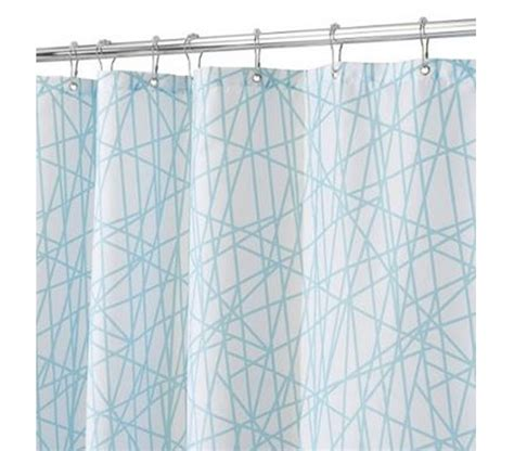 aqua and white curtains aqua white abstract shower curtain