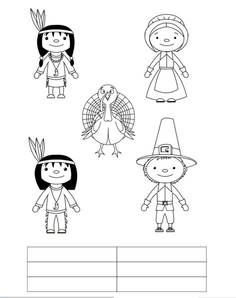 Thanksgiving Finger Puppet Templates Thanksgiving Finger Puppets
