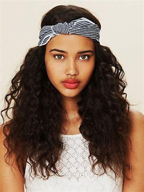 comment porter un bandeau dans les cheveux bandeau cheveux et headband