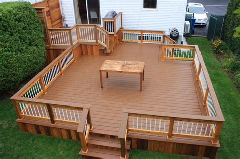 Designer Decks And Patios Patio Deck Design 174 Contemporary Deck Montreal By Patio Deck