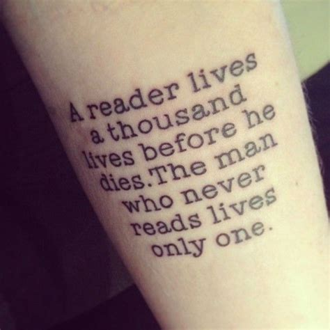 tattoo quotes books book quote tattoos www imgkid com the image kid has it