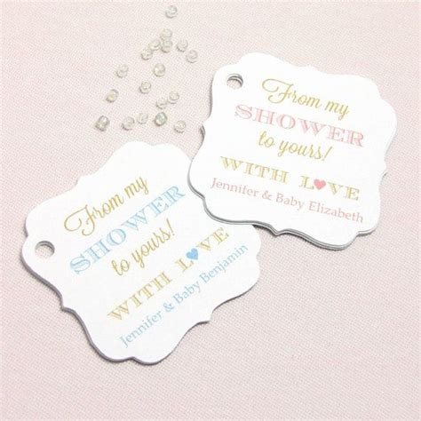 from shower to yours tag 30 soap tags baby shower